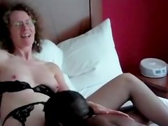 linda gets oral sex from black guy while talking