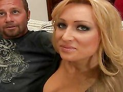A couple of hot-ass bitches suck cock & get nailed