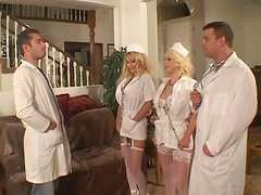 Misty Knights the hit nurse gets her vagina torn up in close-up video