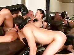 Hot bisex threesome action part 1