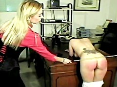Tortura - Bad girls spanked in the office