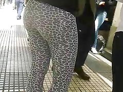 Hot argentinian teen in legging pant