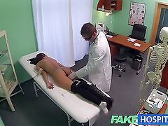 FakeHospital Young woman with killer body caught on camera g