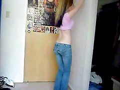 Sexy Princess Teases Only, Dances in Tight Jeans