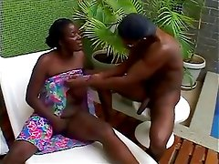 45yr old Black Mature Bombom Craves BBC and Cum