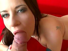 Nasty and always cock-hungered brunette bitch Jessica Rox spends time with Rocco Siffredi. She plays