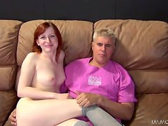 Kira Lake gets her coochie fingered by some tattooed dude