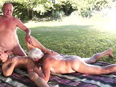 Agata suck that old cock with smile