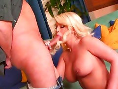 Julie Cash throat fucks this hard throbbing cock