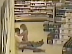 Caught fuck in a convenience store
