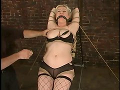 Extreme Bondage with Torture and Spanking Action for Adrianna Nicole