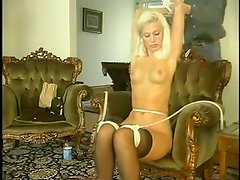 Blond angel gets tortured and abused so severe