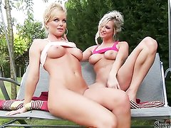 Vendy and Silvia Saint eat each others cunt
