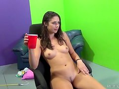 Anna Morna gets her vag licked and pounded in cowgirl position