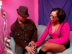 Ebony Christina Getting Licked In Pussy And Fucked Doggystyle