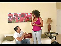 Busty Latina's fucked silly by a thick cock