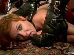 Two salacious chicks get humiliated and tortured and enjoy it