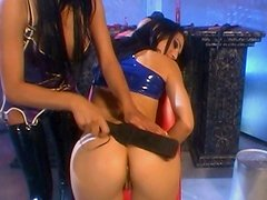Alexis Amore fuck asshole of sensual Victoria Sin