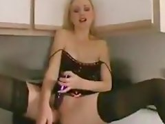 Poor housemaid gets bounded and toyed by her mistress