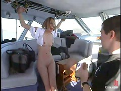 BDSM seductions on the beach with Heaven Lee