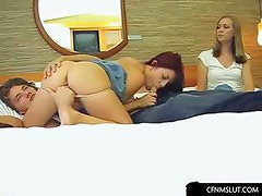 Redhead gets fucked and fingered