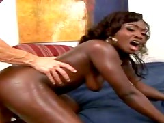 Osa Lovely gets her black pussy fucked in all known poses