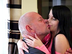 Jessyka Swan gets fucked by a bald man