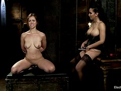 Anal Strapon for Audrey Rose by Isis Love in Kinky Lesbian Femdom