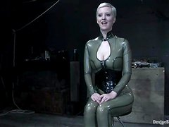Sexy Cherry Torn gets chained and gagged in hot video