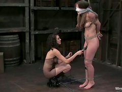 Jade Marxxx gets her snatch fisted in terrific BDSM clip