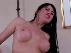 Eva Karera is a stunningly sexy milf with long black