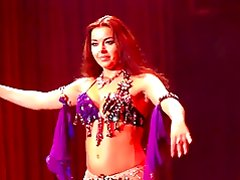 Alla Kushnir sexy Belly Dance part 8