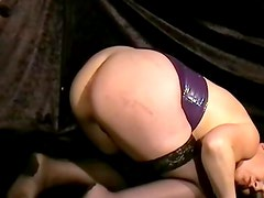 Rough slavesex and bizarre buttplugged domination of aged submissive big porn anal freak China