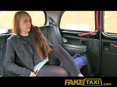Naughty teen is going to suck and get fucked by a cab driver