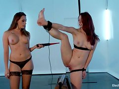 Bondage Session with Toying and Electrical Torture for Melody Jordan