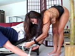He is submissive to her ass