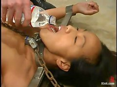 Kelana the petite Asian gets toyed and humiliated