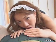 Alluring Japanese gal Nanami Takase gets boned hard uncensored