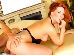 Anal Creampie In A Hot Redhead