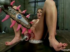 Busty Vixen Trying The Different Sex Toys to Orgasm