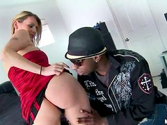 A hard black cock is what Natasha Starr is here for