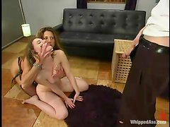 Holly sucks a dick and gets toyed by hot Kym Wilde