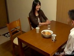 Japanese girlfriend loves being instructed in sex