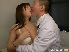 Rina Itou Loves To Fuck Her Doctor Dry Again And Again