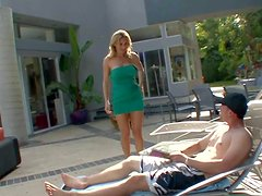 Smoking hot blonde milf Tanya Tate with awesome body and