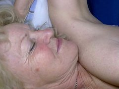 Incredibly horny lesbians lick each other's hot pussies like mad