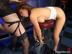 Sexy Isabella Soprano gets dominated and toyed by Chanta-Rose