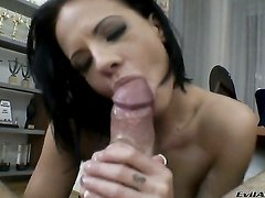 Rocco Siffredi gives hot blooded Alizs mouth a