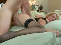 She loved to get fucked in her pussy by his large cock