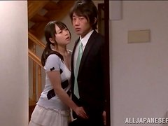 Japanese Swingers Fucking in Foursome with Cum Swapping Action